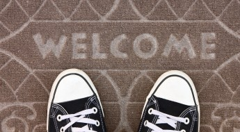 Welcome carpet