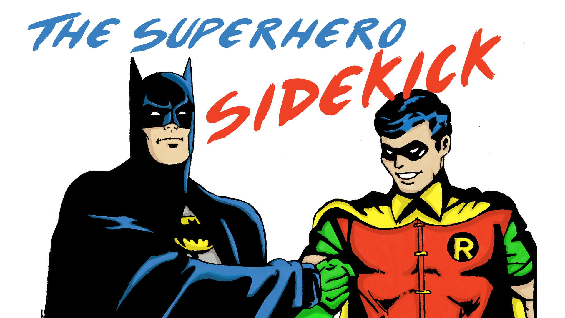 the superhero sidekick